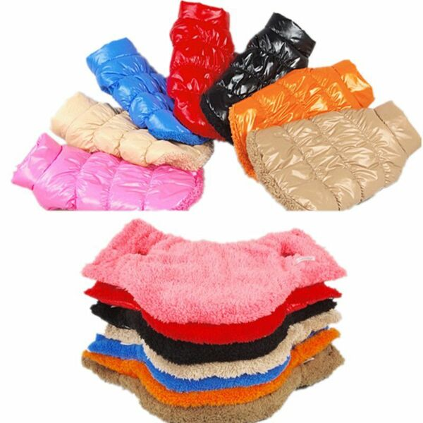 Winter Warm Waterproof Clothes For Dogs Outdoor Walking Thickening Jackets Coats $20.97