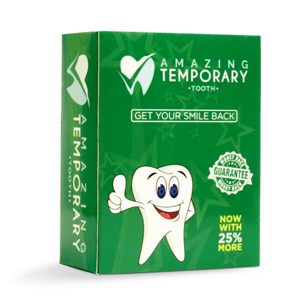 Amazing Temporary Missing Tooth Kit Replacement Temp Dental 25% more than others $19.95