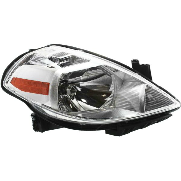 Headlight For 2007 2012 Nissan Versa Right With Bulb Clear Lens Halogen