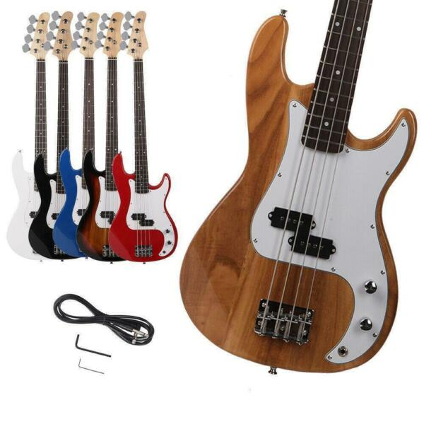 New 5 Color 4 Strings Fire Style Electric Bass Guitar