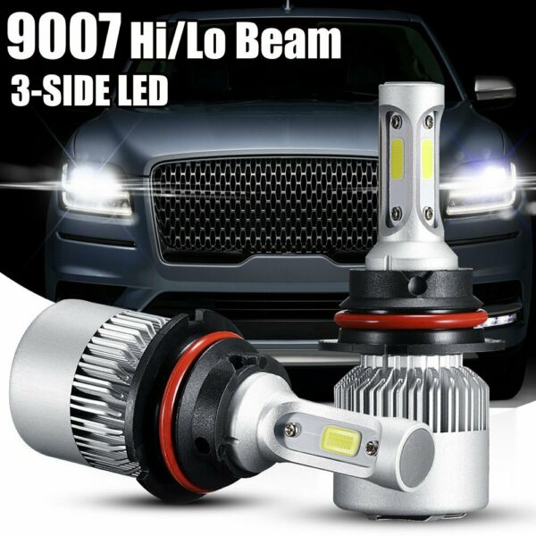 9007 LED Headlight Bulbs Kit For Dodge Ram 1500 2500 3500 2003-2005 Hi-Low Beam