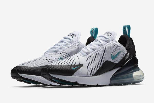 Nike Air Max 270 Dusty Cactus Size 9-13 Black White Dusty Cactus AH8050-001