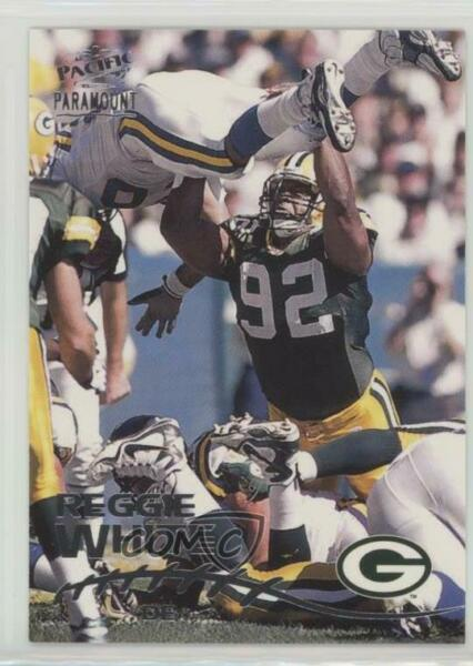 1998 Pacific Paramount Silver #91 Reggie White Green Bay Packers Football Card