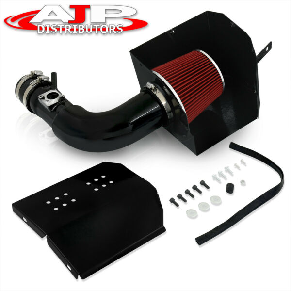 Black JDM Cold Air Intake Air Filter Heat Shield For 13 20 Toyota 86 FRS BRZ $71.99