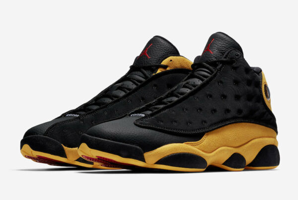 Nike Air Jordan 13 Retro Melo Class Of 2002 Size 7.5-16 Black Yellow 414571-035
