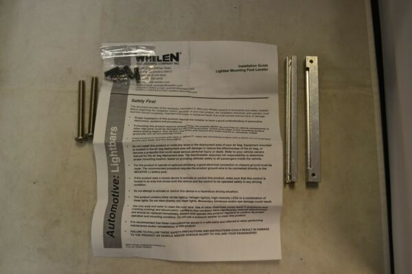 Whelen Lightbar Mounting Foot Leveler Kit 3DEGREE