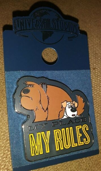 UNIVERSAL STUDIOS THE SECRET LIVE OF PETS MOVIE COLLECTIBLE PIN RARE AUTHENTIC A