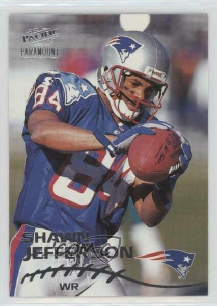 1998 Pacific Paramount Silver #139 Shawn Jefferson New England Patriots Card