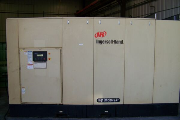 Ingersoll Rand 450hp. two stage 120 psi Rotary Screw Air compressor warranty