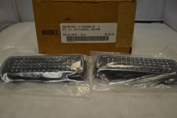 Whelen (2) 500 Series LED Steady Max LFL Flashers for LFL Lightbar-Amber LKLAA