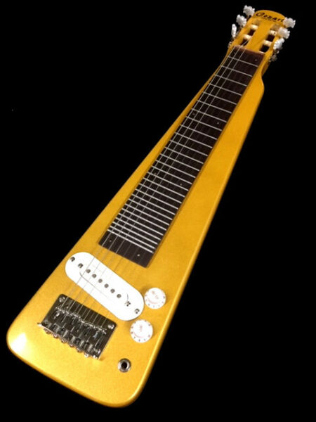 NEW 66 DOUBLE LAP STEEL SLIDE GLOSSY WHITE ELECTRIC GUITAR GREAT PLAYER