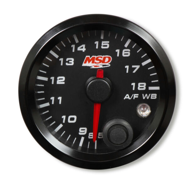 MSD 4650 Standalone Air/Fuel Wideband O2 Gauges kit