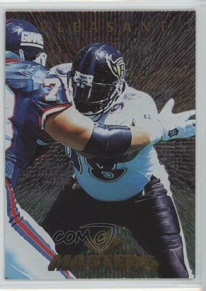 1997 Collector's Edge Masters #20 Anthony Pleasant Baltimore Ravens Card