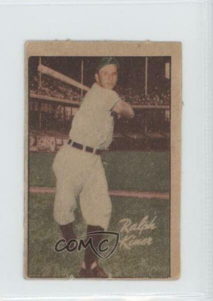 1952 Berk Ross Hit Parade of Champions Ralph Kiner HOF