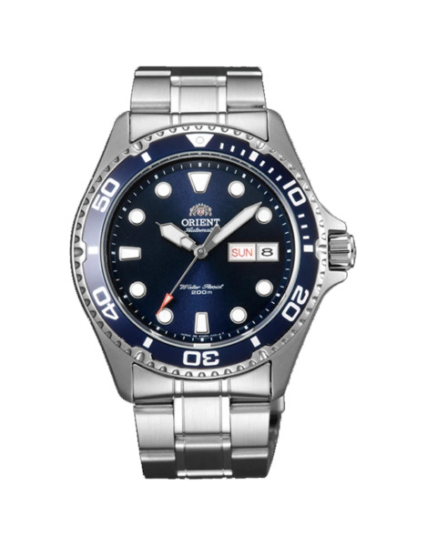 Orient Men#x27;s #x27;Ray II#x27; Japanese Automatic Stainless Steel Diving Watch FAA02005D9 $131.99