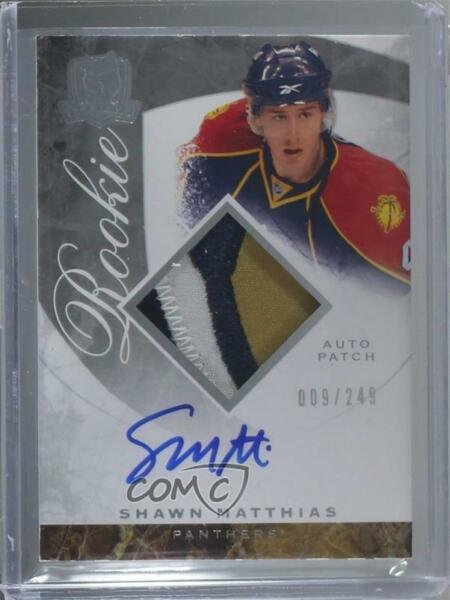 2008 Upper Deck The Cup249 #103 Shawn Matthias Florida Panthers RC Rookie Card