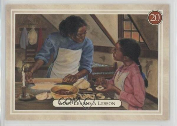 1994 Pleasant American Girl Addy #20 Learns a Lesson (Spelling Lessons) Card 1d3