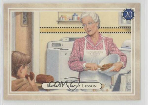 1994 Pleasant American Girl Molly #20 Learns a Lesson (Making Bread) Card 1d3