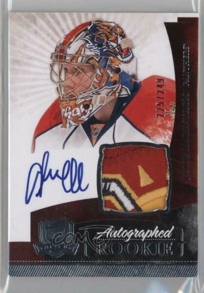 2010 Upper Deck The Cup249 #139 Jacob Markstrom Florida Panthers Auto RC Rookie