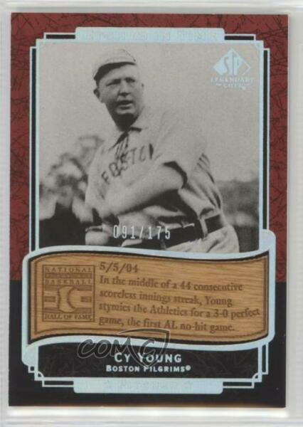 2003 SP Legendary Cuts Etched in Time Holofoil175 #ET-CY Cy Young Baseball Card