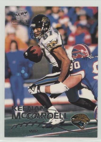 1998 Pacific Paramount Silver #105 Keenan McCardell Jacksonville Jaguars Card