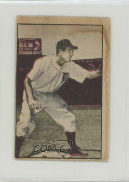 1952 Berk Ross Hit Parade of Champions George Kell HOF