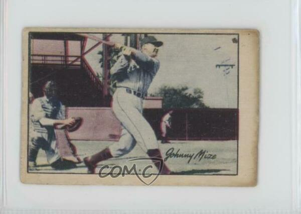 1952 Berk Ross Hit Parade of Champions Johnny Mize HOF