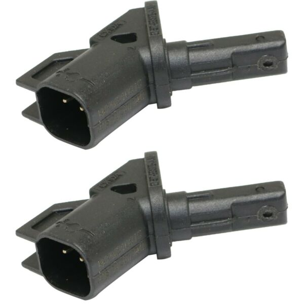 New Set of 2 ABS Speed Sensors Front Driver & Passenger Side LH RH for 3 5 Pair