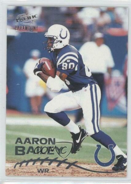 1998 Pacific Paramount Silver #92 Aaron Bailey Indianapolis Colts Football Card
