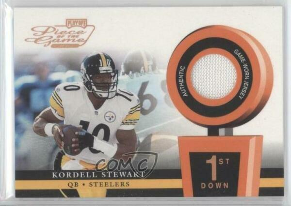2002 Playoff Piece of the Game Materials 1st Down250 #POG-34 Kordell Stewart