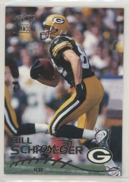 1998 Pacific Paramount Silver #90 Bill Schroeder Green Bay Packers Rookie Card
