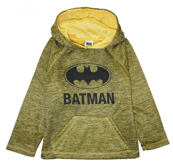 Batman Toddler Boys Pull-Over Hoodie Size 2T 3T 4T