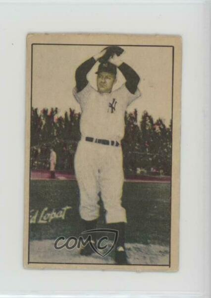 1952 Berk Ross Hit Parade of Champions Eddie Lopat