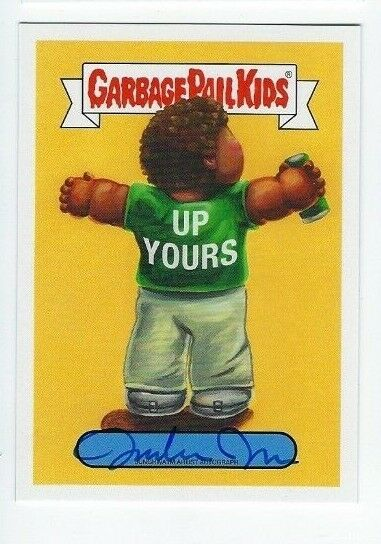 2019 Garbage Pail Kids We hate the 90's artist autograph Junghwa Im (d) 1525