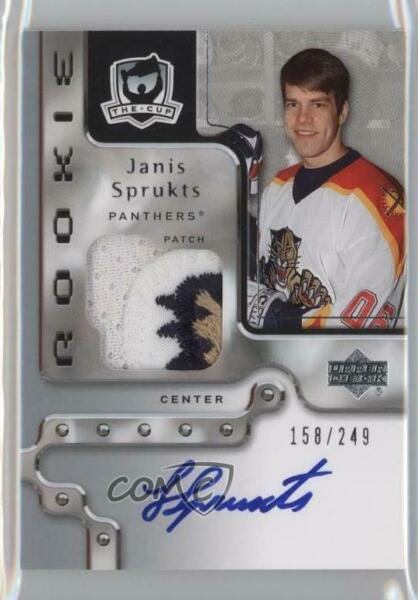 2006-07 Upper Deck The Cup249 #131 Janis Sprukts Florida Panthers Rookie Card