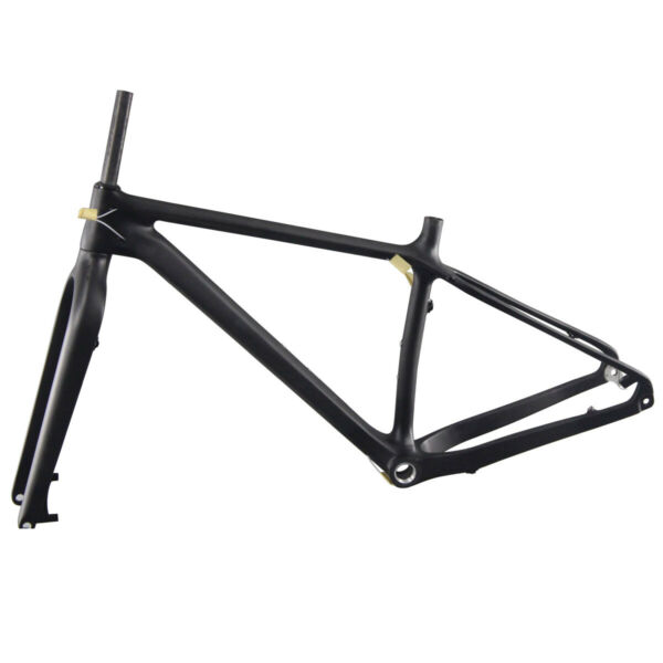 Carbon Trail SnowFatbike SMLFrameset with 15*150mm Fork Rear Spacing 12*197mm