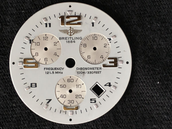 Breitling Frequency chrono white face