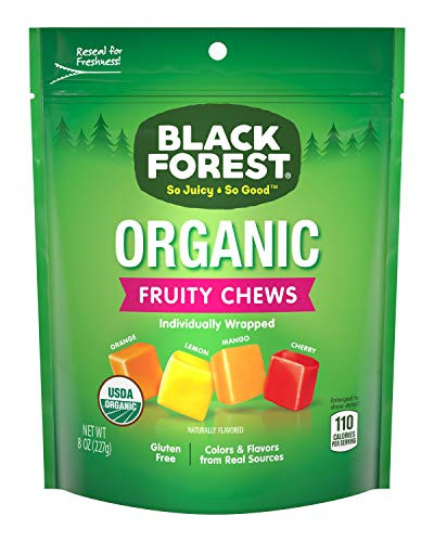 Black Forest Organic Candy Fruity Chews 8 OuncePack of 6