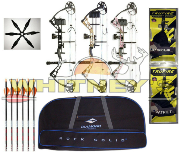 Diamond Bowtech Infinite Edge Pro-Choice of RHLHBow ColorReleaseTarget Point