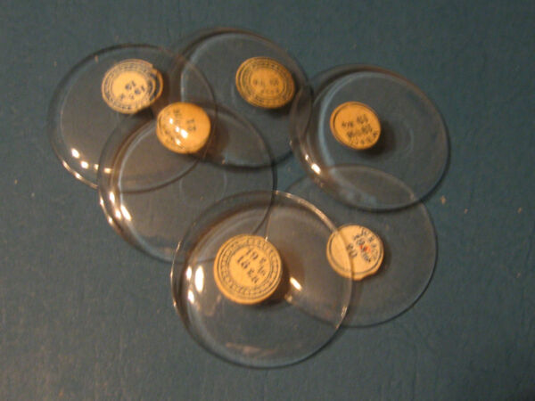 Vintage Pocket Watch Crystals 19s NOS for Open Face Pocket Watches