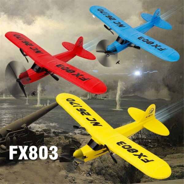 2.4G 2CH RC Plane Airplane Remote Control Glider Aircraft Model Drone Helicopter