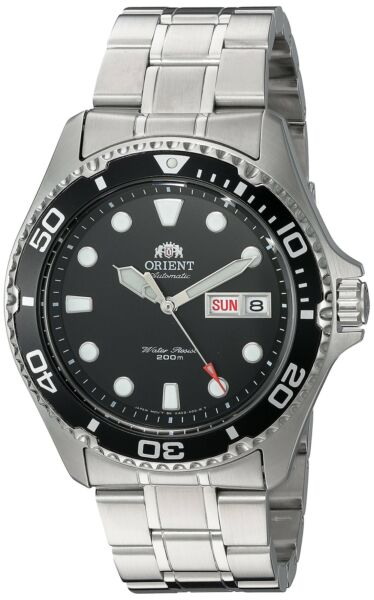 Orient Men#x27;s Ray II Japanese Automatic Stainless Steel Diving FAA02004B9 Watch $127.54
