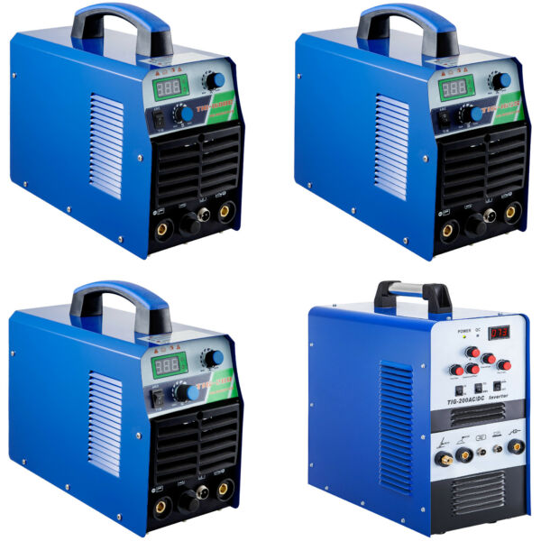 160A200A TIG Stick MMA Arc 2-in-1 Combo Inverter Welder IGBT 110V220V