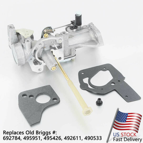 Carburetor fits for Briggs amp; Stratton 5HP Engine 498298 692784 495951 495426 $15.65