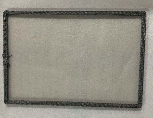 Wood Stove Door Glass 9×13 replacement high heat ceramic glass With Gasket $99.99