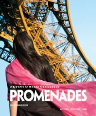 Promenades 2nd ANSWER KEY for WorkbookVideo and Lab Manual  New Book