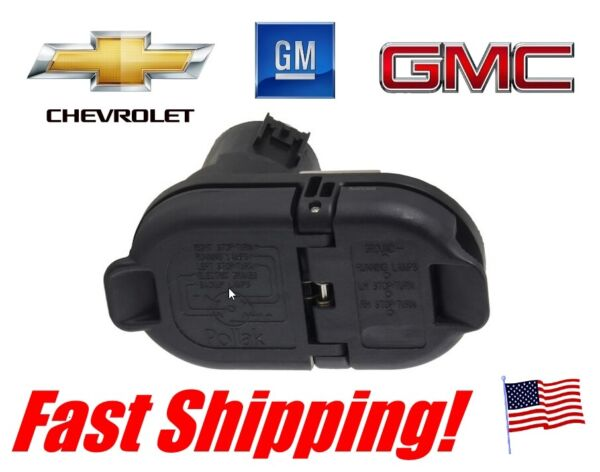 GM CHEVY GMC Pollak 0EM replacment 7 way round 4 way flat Trailer Wiring Plug