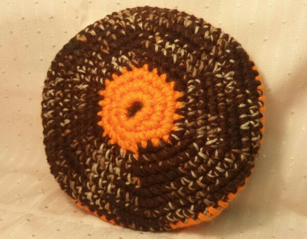 *NEW* Hand Crocheted  Frisbee ~ Soft ~ Safe for Kids & Beginners  7