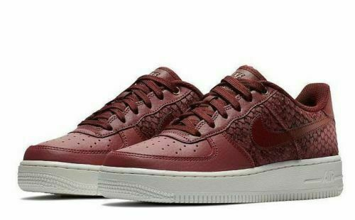 Nike Air Force 1 '07 LV8 Port Dark Team Red 823511-602 New Men's Shoes Size 11