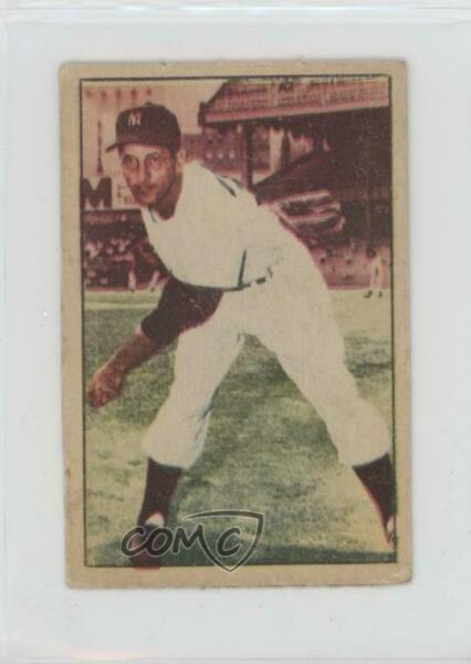1952 Berk Ross Hit Parade of Champions Joe Ostrowski Rookie
